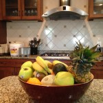 Fresh Fruit in the Kitchen