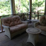 Screened Side Porch